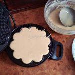 Приготовление венских вафель