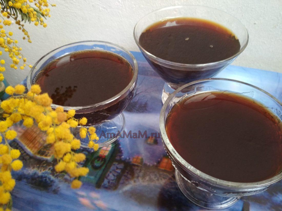 Как сделать желе из варенья в домашних 10