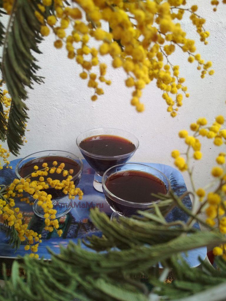 Домашнее желе из варенья и желатина