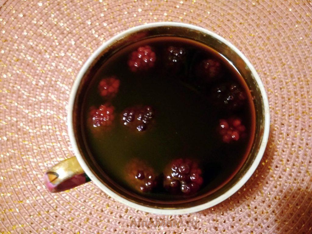 Десерт из варенья с желатином (ягодное желе)