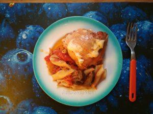 рецепты салаты жаренные из баклажанами