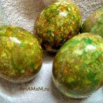 Как сделать пасхальные яйца блестящими