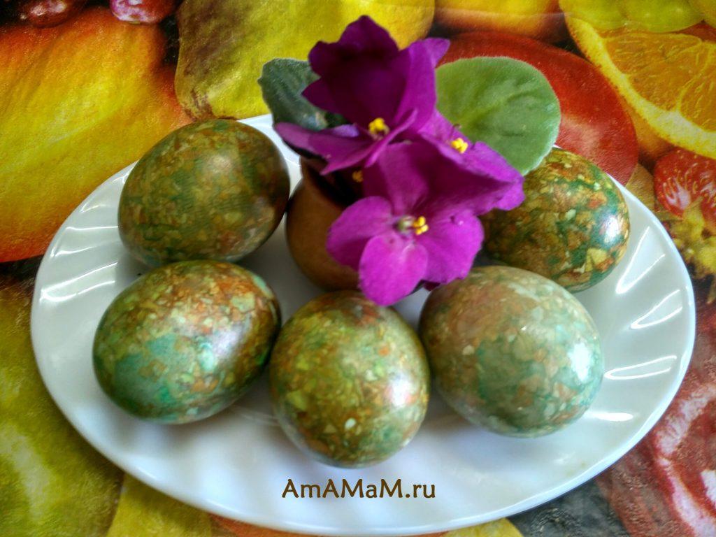 Пасха - рецепты крашения яиц
