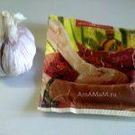 Головка чеснока и жгучий перец