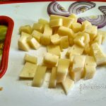 Твердый сыр в нарезке мелкими кусочками