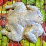 Цыпленок на решетке
