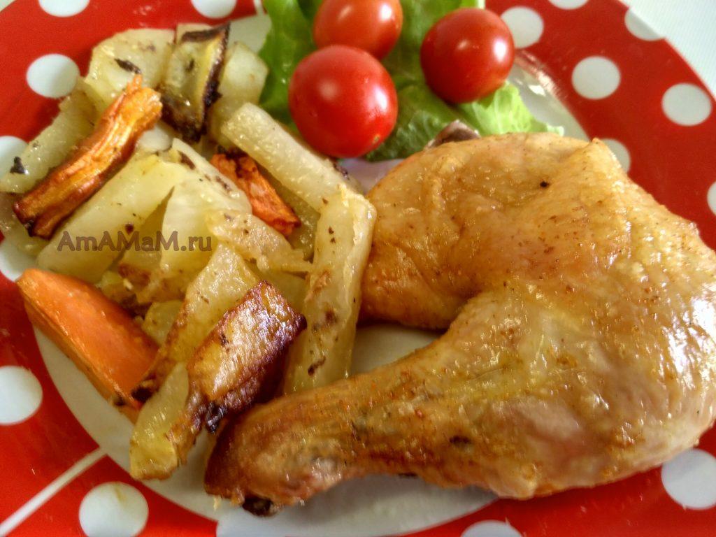 простой рецепт запекания курицы в духовке