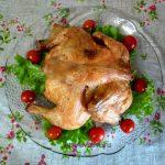 Курица на решетке