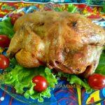 Курица-гриль на решетке