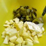 Как делают салат с белой фасолью - рецепт в картинках
