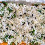 Запеканка из риса, овощей и курицы