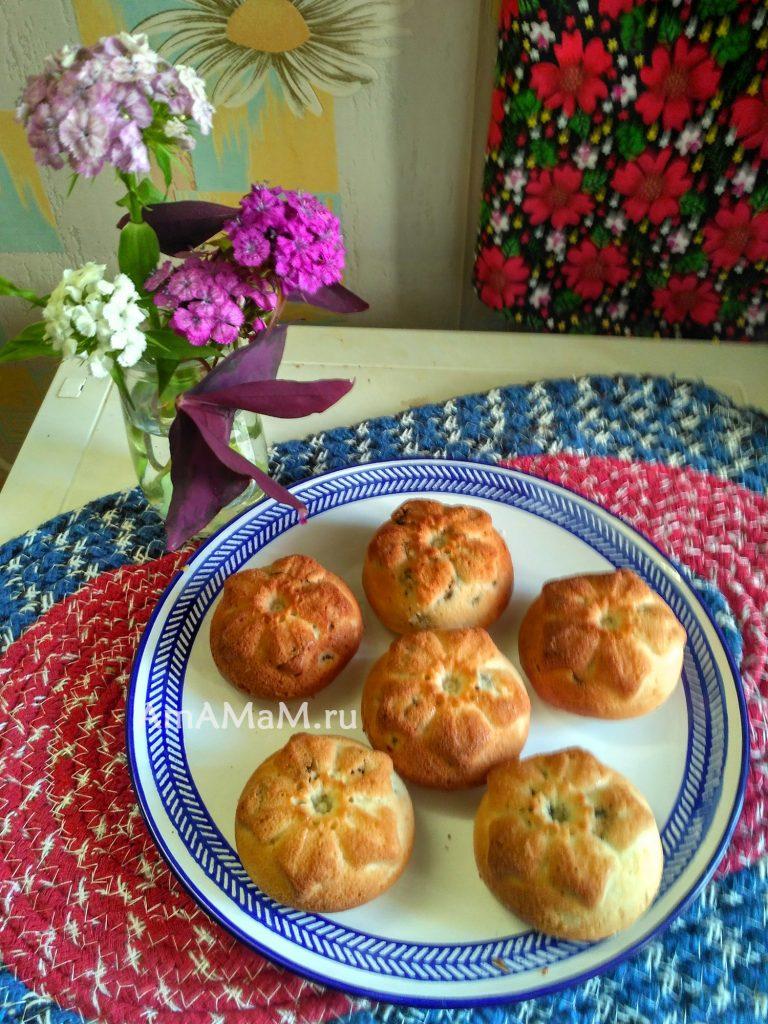 Приготовление кексов на сметане- рецепт и фото