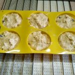 Кексы в формочках - фото приготовления