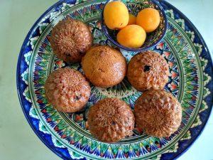 Кексы лимонные - рецепт и фото