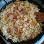 Рецепт макарон с ветчиной