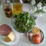 Руккола - состав салата и рецепт