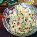 Блюда из крабовых палочек- рецепт салата
