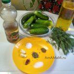 Что нужно для рецепта огуречного салата