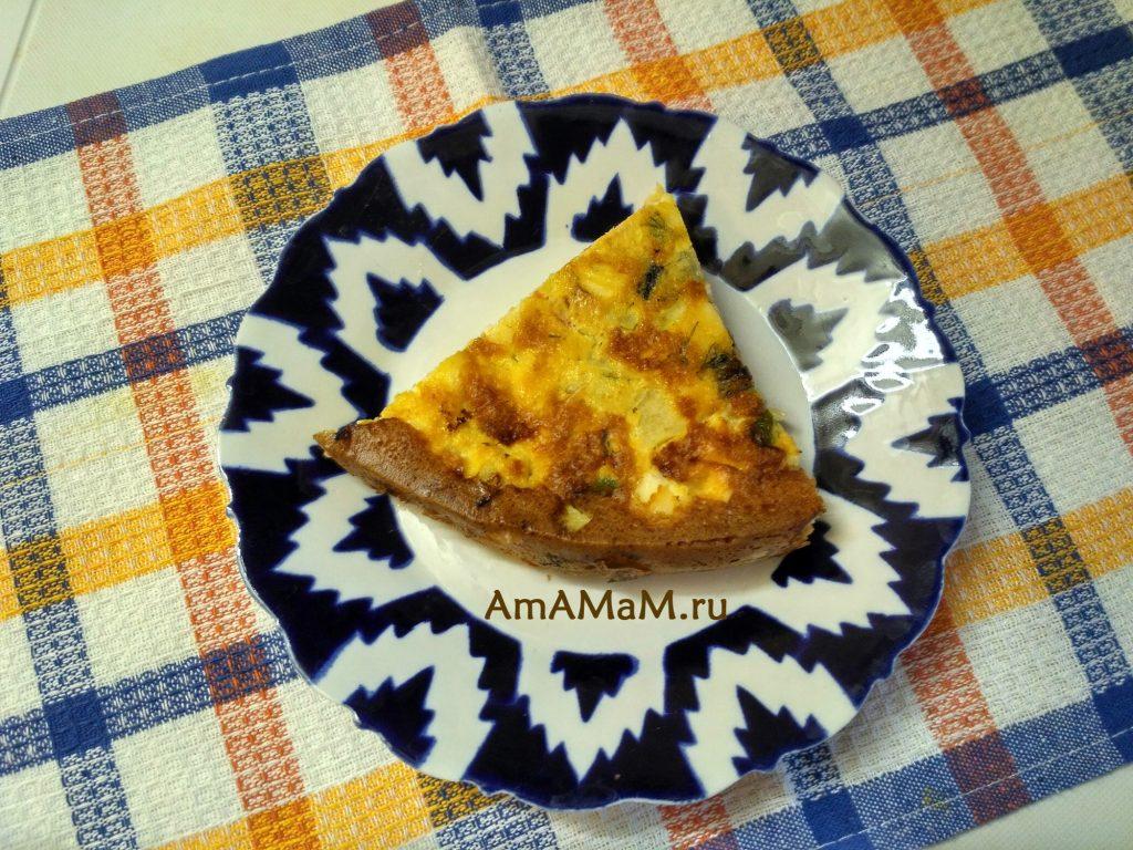 Блюда из кабачков - рецепт запеканки