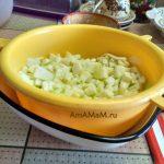 Приготовление запеканки из кабачков - обсушка
