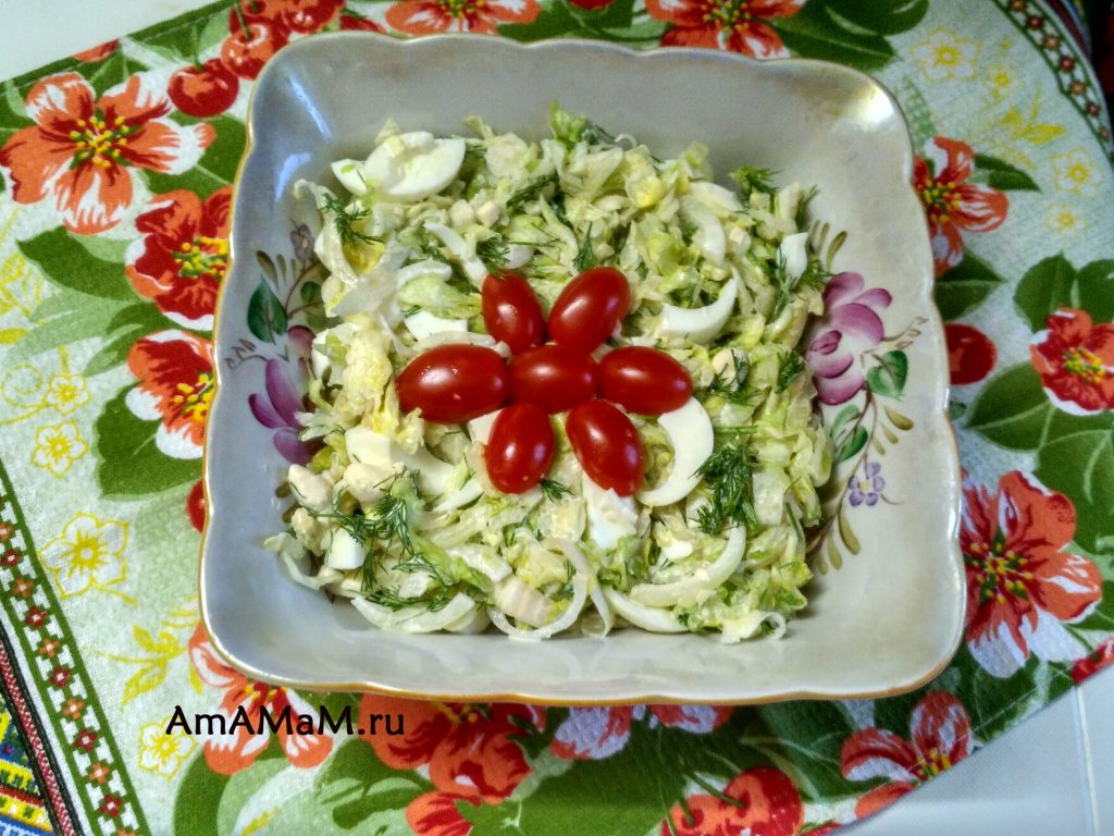 Салат Айсберг - рецепт салата на скорую руку