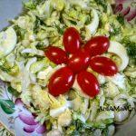 Вкусный салат из салата Айсберг