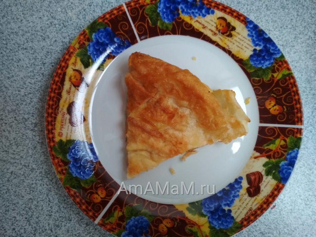 Рецепт сырной закуски из лаваша