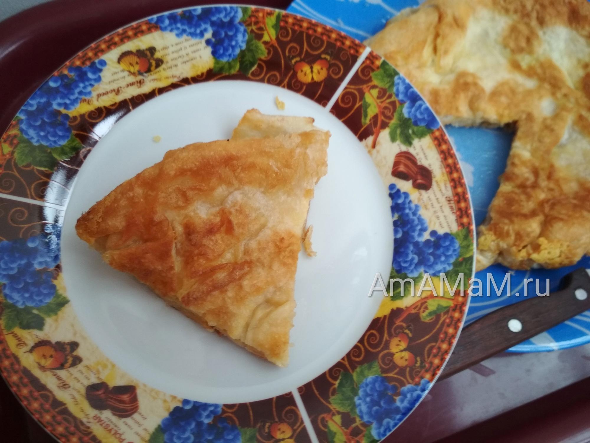 Сырная лепешка из тонкого лаваша - своими руками