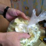 Маринование молодых кабачков в пакете