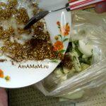 Кабачки в макете (маринование)