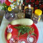 Что требуется для рецепта маринованных кабачков