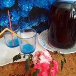 Рецепт компота (замороженная черноплодка и клюква)
