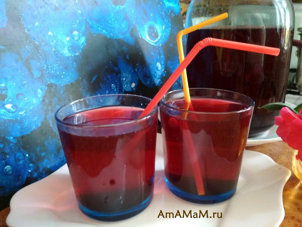 Рецепт компота из замороженных ягод