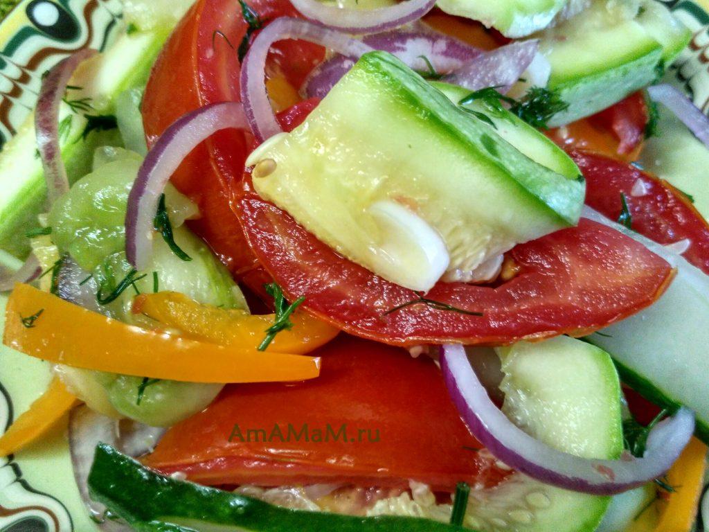 Соленые овощи (быстрый посол в банке)