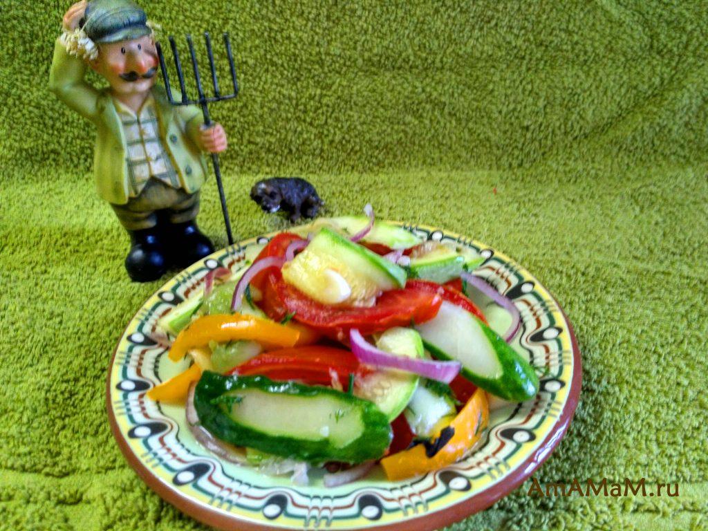 Малосольные домашние овощи - быстрый рецепт