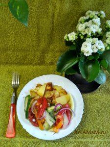 Вкусные малосольные овощи - сухой посол в банке