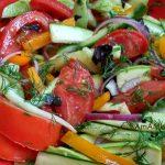 Приготовление малосольных овощей