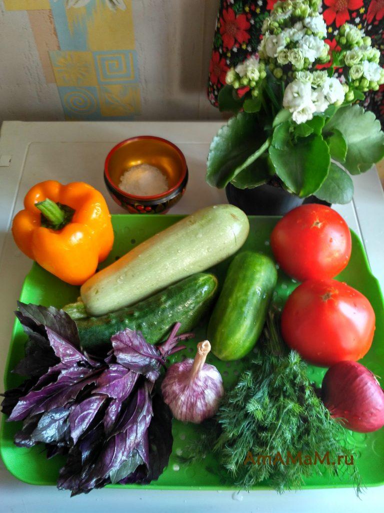 Быстры посол овощей - рецепт малосольных овощей
