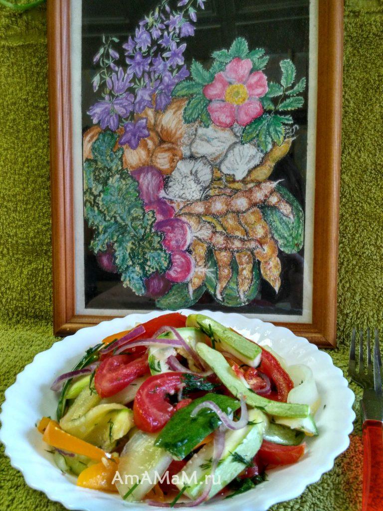 Рецепт посола овощей на скорую руку