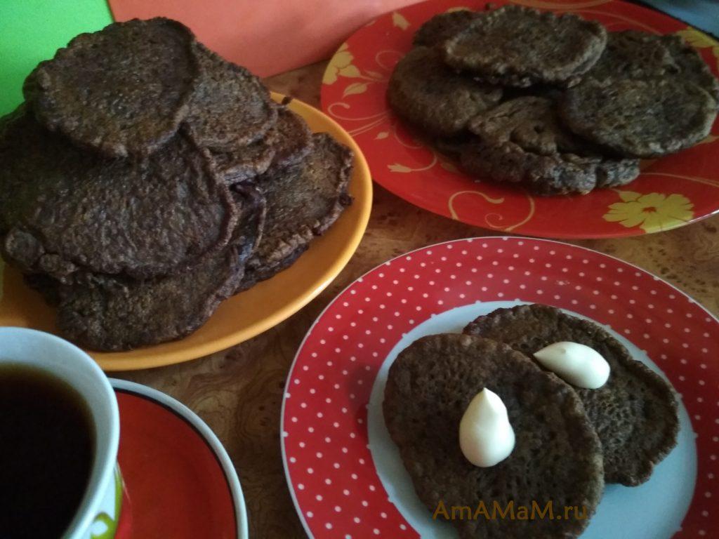 Оладьи печеночные с луком - рецепт из куриной печени