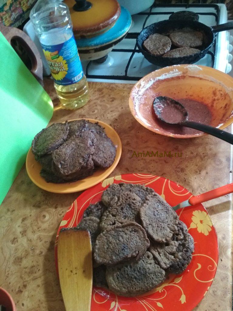 Как делают оладьи из печени - фото и рецепт