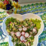 Тунец с редисом - простой и вкусный салат