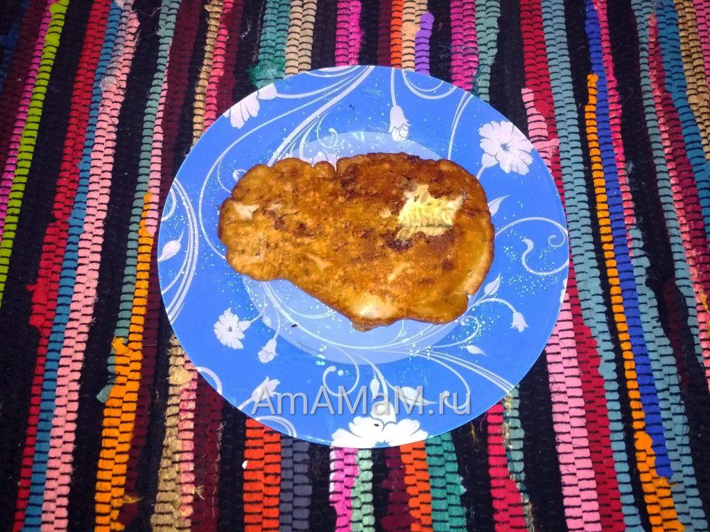 Рецепт жарки камбалы - просто и вкусно