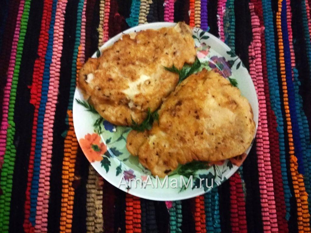 Камбала - рецепт приготовления