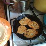 Банановые оладьи - процесс приготовления