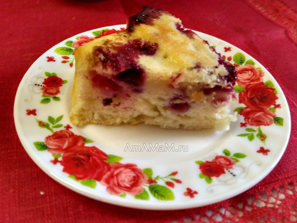 Пирог на блюдце