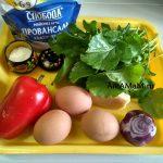 Ингредиенты салата из рукколы