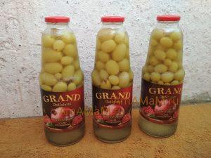 Заготовка винограда на зиму - рецепт компота