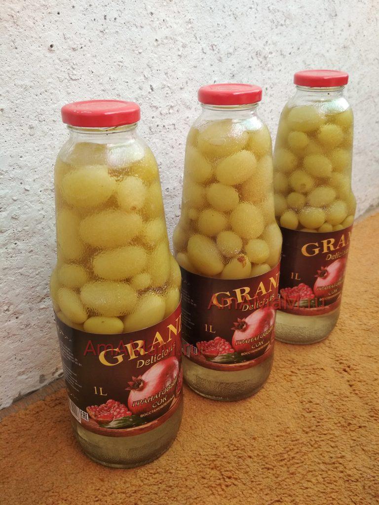 Домашний виноградный компот - рецепт консервирования на зиму