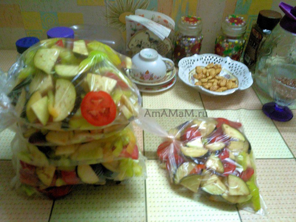 Смесь овощей для заморозки